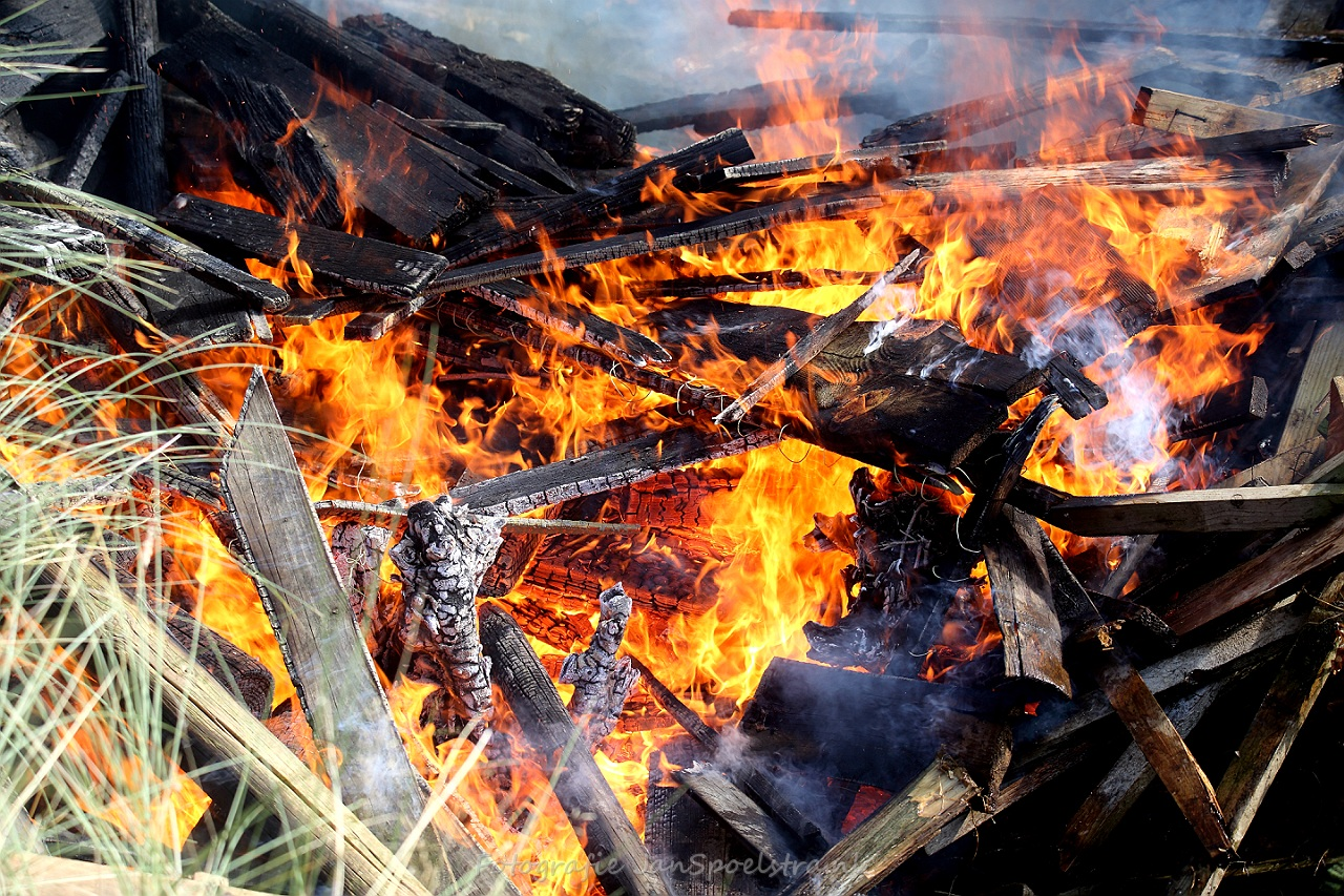 Geen vuur in de natuur op Ameland.