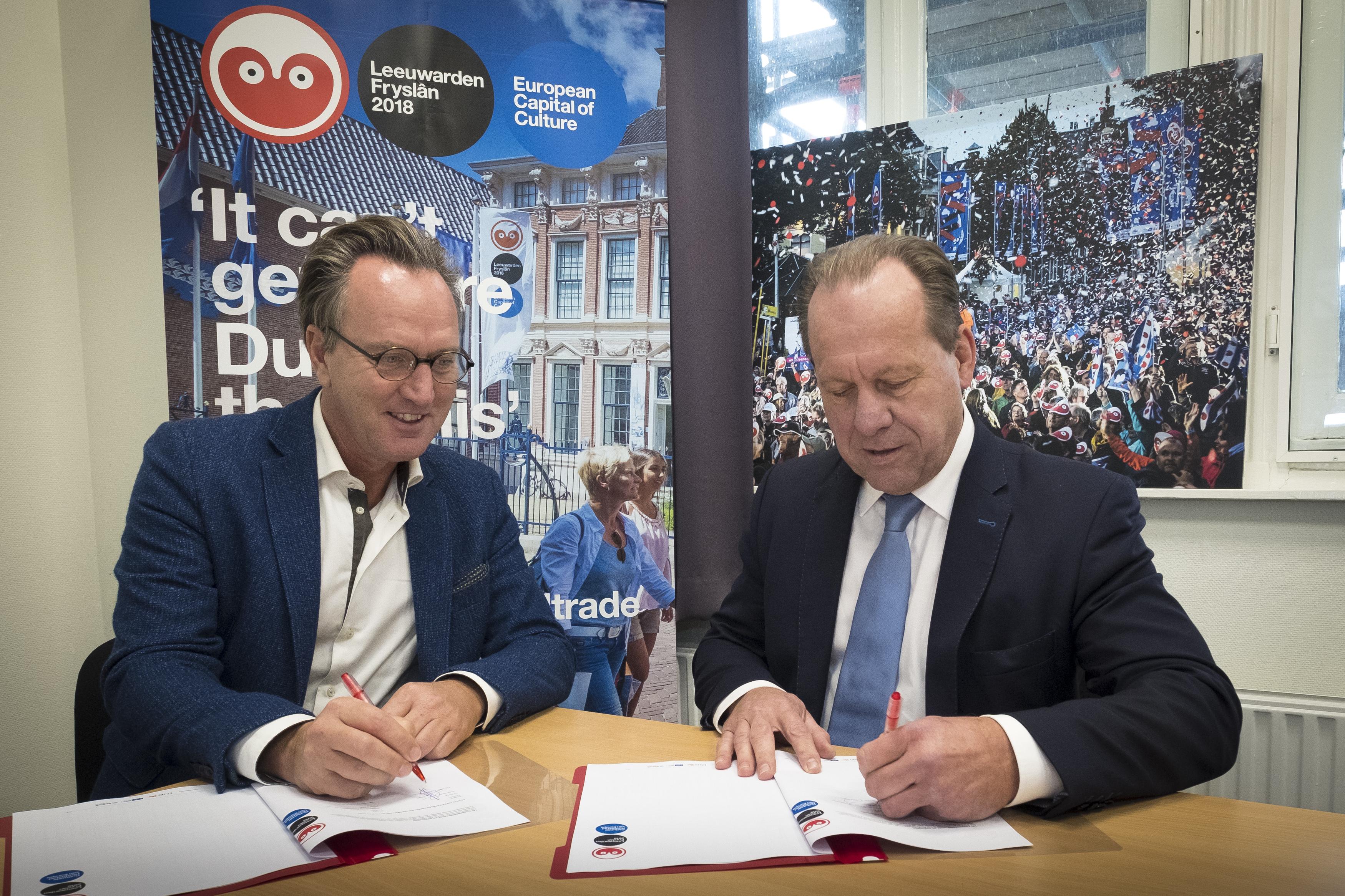Wagenborg sponsor Leeuwarden-Fryslân 2018