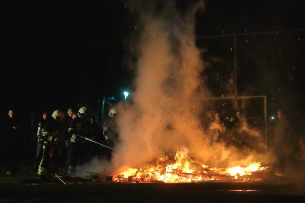 Een viertal malen moest de Brandweer uitrukken voor een brandje